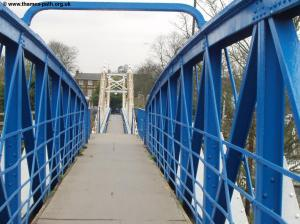 Double bridges at Teddington Lock