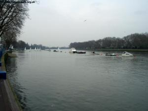 Looking West from Putney Embankment